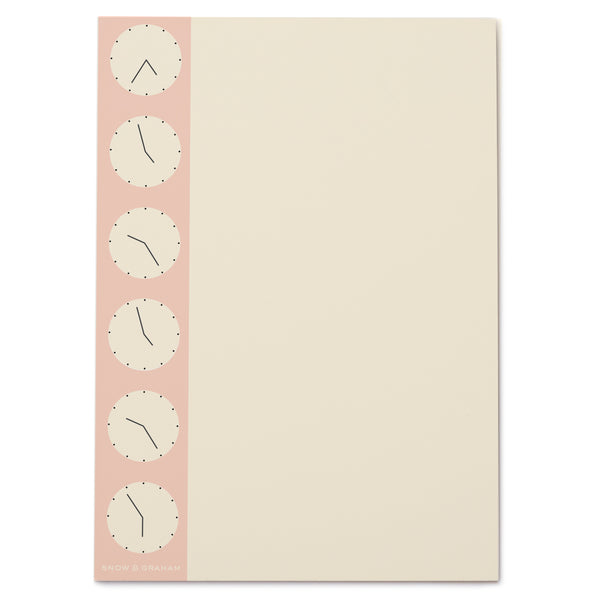 Clocks notePAD