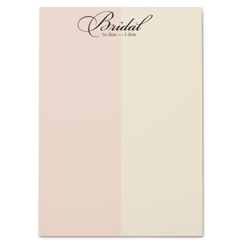 Bridal notePAD