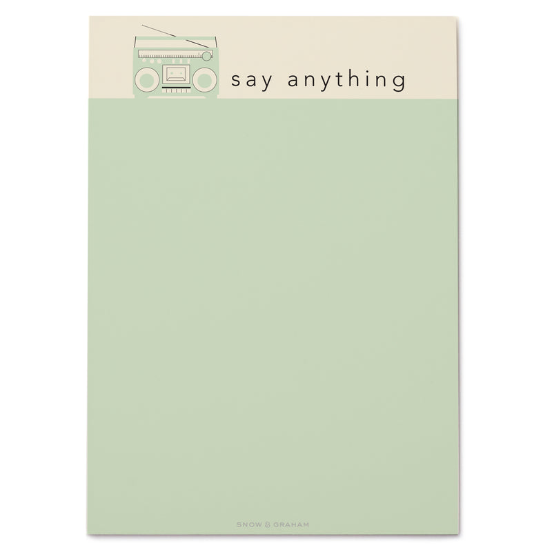 Say Anything notePAD