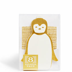 Penguin Gilded Tag
