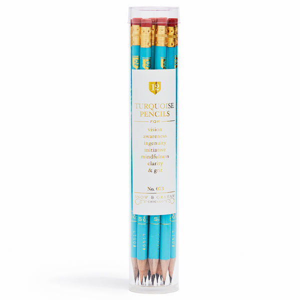 Turquoise Pencils