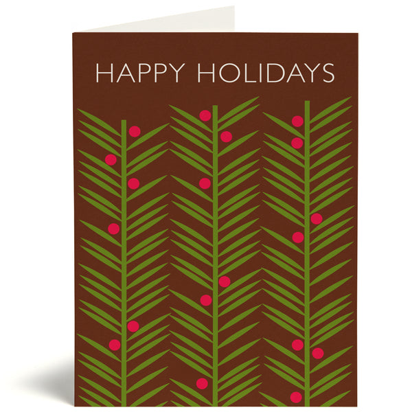 Pine Needles Card
