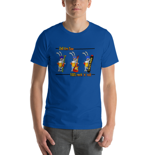 Ski Team 2019 100% Rock and Roll, Unisex T-Shirt