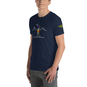 Ridgeline Skier, fitted T-Shirt