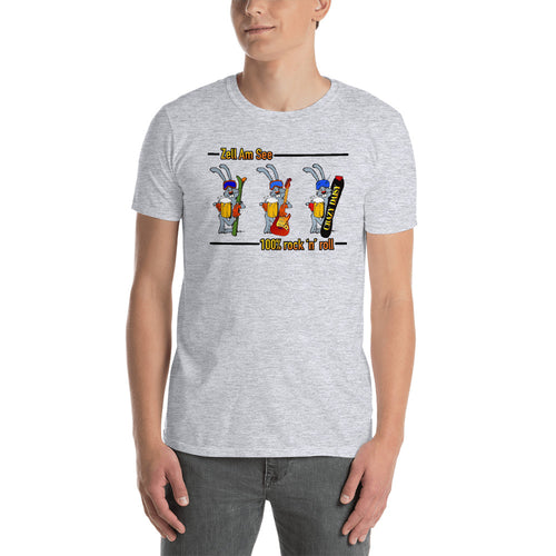 Ski Team, 100% rock n roll, fitted T-Shirt