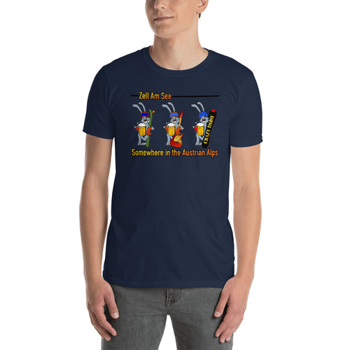 Ski Team 2019, Somewhere! fitted T-Shirt
