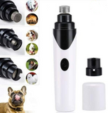 PetPAWtrol's Premium Rechargeable Painless Pet's Nail Grinder (Upgraded Version)