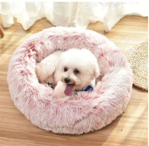 Round - Ultra Soft Plush Pet Bed