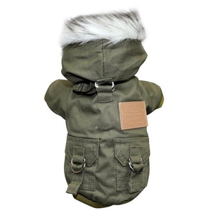 Military Style Dog Parka