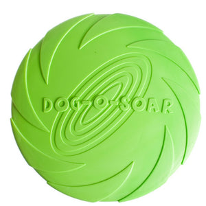 Soft Rubber Flying Disc Dog Toy