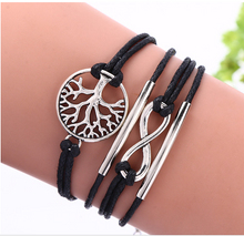 Load image into Gallery viewer, European and American Big-Name Multilayer Woven Rope Love Bracelets - TheRightBuy4Women.com