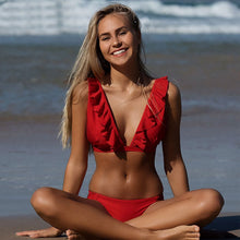 Load image into Gallery viewer, OMKAGI Brand Sexy Bikini 2019 Swimsuit Swimwear Women Push Up Bikinis Set Swimming Bathing Suit Beachwear Maillot De Bain Femme - TheRightBuy4Women.com