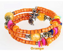 Load image into Gallery viewer, Vintage Wooden Buddhist Prayer Beads Bracelet