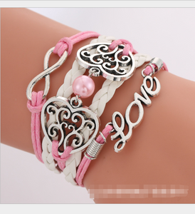 European and American Big-Name Multilayer Woven Rope Love Bracelets - TheRightBuy4Women.com