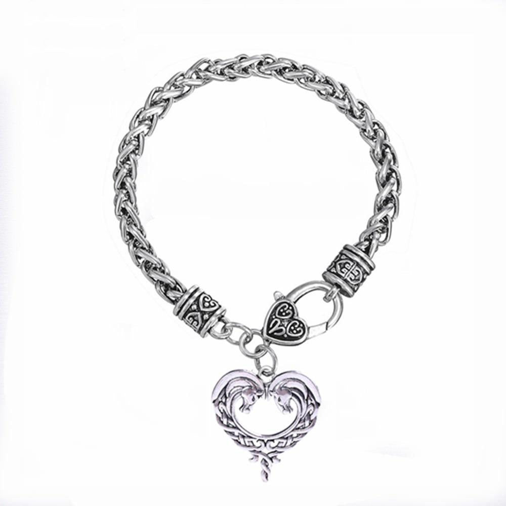 Horse Lords Heart Irish Knots Bracelet - TheRightBuy4Women.com
