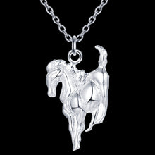 Load image into Gallery viewer, Sprited Running Horse Necklace - TheRightBuy4Women.com