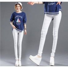 Load image into Gallery viewer, Casual Skinny Trousers - TheRightBuy4Women.com