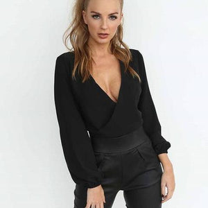 Full Sleeve Chiffon Blouse - TheRightBuy4Women.com