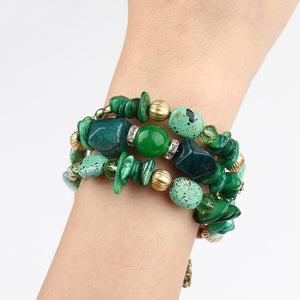 Beautiful Boho Multi-layer Beaded Charm Bracelet For Girls - TheRightBuy4Women.com