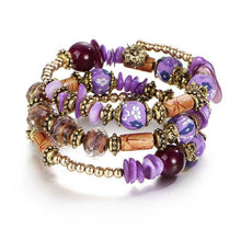 Load image into Gallery viewer, Beautiful Boho Multi-layer Beaded Charm Bracelet For Girls - TheRightBuy4Women.com