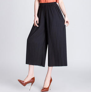 Wrinkle High Waist Pants - TheRightBuy4Women.com