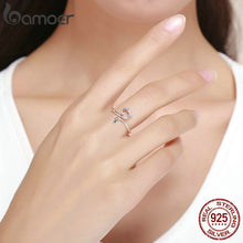 Load image into Gallery viewer, Hot Sale Authentic 925 Sterling Silver Cat Open Ring - TheRightBuy4Women.com