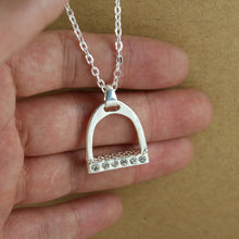 Load image into Gallery viewer, This Necklace Celebrates one of the Oldest Advances in Transportation Technology ; the Stirrup - TheRightBuy4Women.com