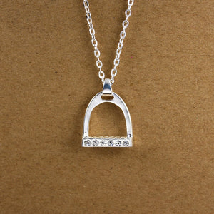 This Necklace Celebrates one of the Oldest Advances in Transportation Technology ; the Stirrup - TheRightBuy4Women.com
