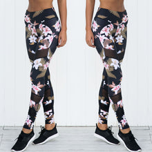 Load image into Gallery viewer, Women's Yoga / Running Leggings with Floral Print - TheRightBuy4Women.com