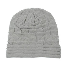 Load image into Gallery viewer, Knitted Beanie Caps- Warm Woolen Geometric Baggy Cap - TheRightBuy4Women.com