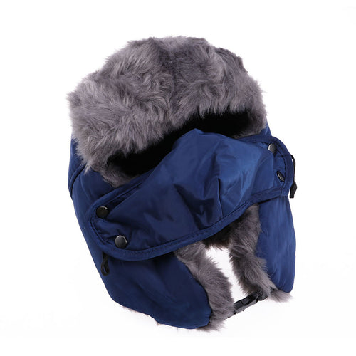 Old school style meets tenacious warmth in this Russian-style unisex Winter Trooper hat - TheRightBuy4Women.com