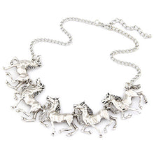 Load image into Gallery viewer, Elegant Prancing Horse Necklace - TheRightBuy4Women.com