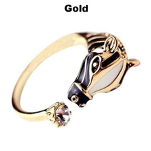 Load image into Gallery viewer, Striped Zebra Head Ring Hot Sale! 50% Off - TheRightBuy4Women.com