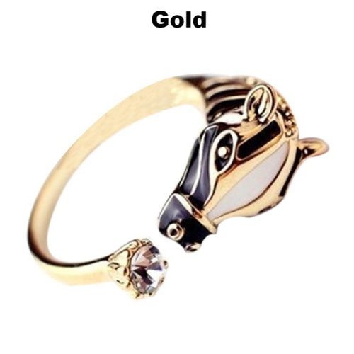 Striped Zebra Head Ring Hot Sale! 50% Off - TheRightBuy4Women.com
