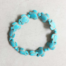 Load image into Gallery viewer, Turquoise Tortoise Bracelets White, Blue & Multicolor - TheRightBuy4Women.com