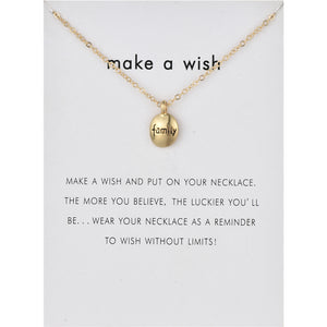 Make A Wish Necklace - TheRightBuy4Women.com