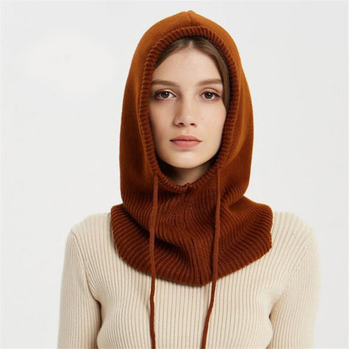 Cashmere Winter Knitted Hat Beanie Scarf - TheRightBuy4Women.com