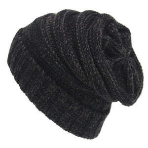 Winter Beanie Hat Ladies Knit Hat Slouchy Woolen Crochet Hat AKA Unisex Baggy Caps - TheRightBuy4Women.com