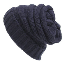 Load image into Gallery viewer, Winter Beanie Hat Ladies Knit Hat Slouchy Woolen Crochet Hat AKA Unisex Baggy Caps - TheRightBuy4Women.com