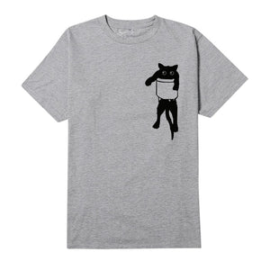 Funny Hanging Cat T-shirt