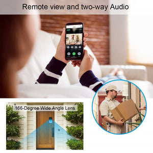 IP Wifi Camera - 2.4G WiFi Wireless Video Camera Doorbell