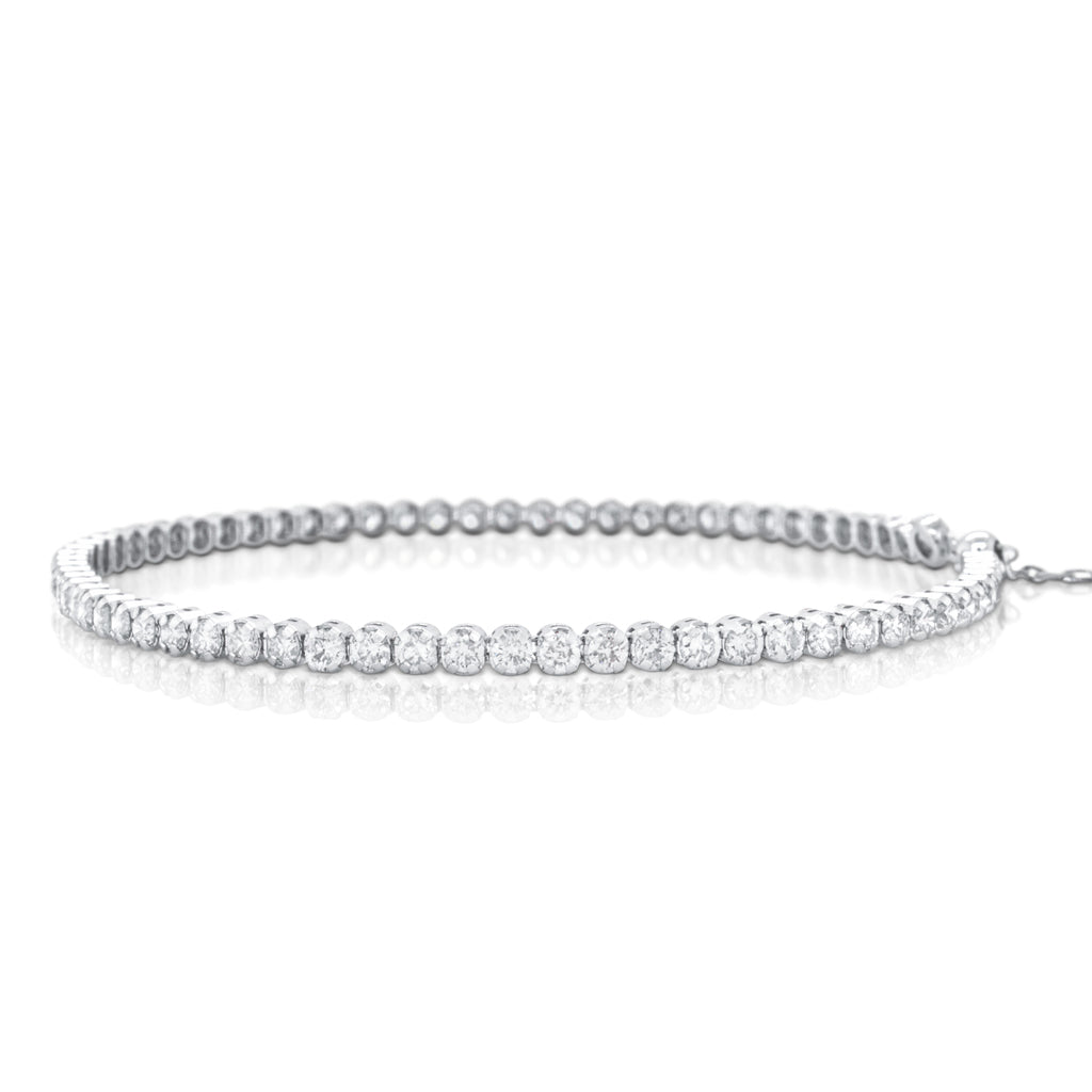 Diamond Tennis Bracelet (Adjustable)