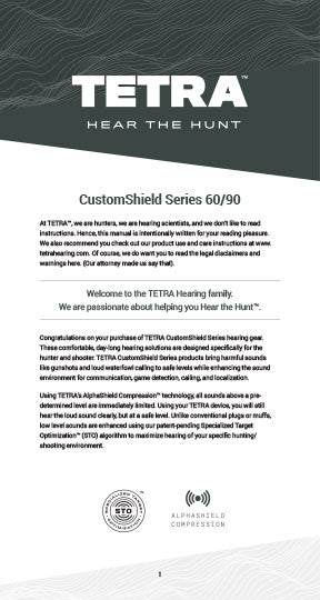 Download the CustomShield Series 60/90 Product Manual