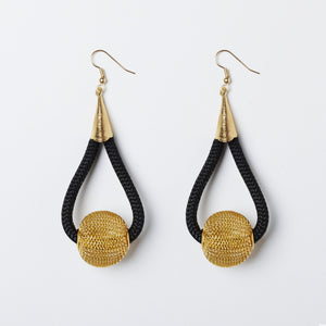 Curved Ball Earrings