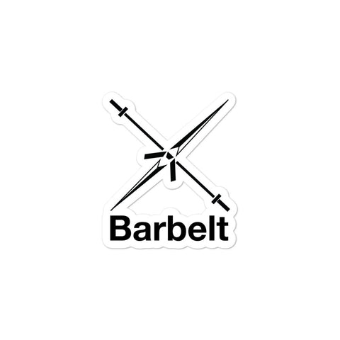 Barbelt Logo Sticker