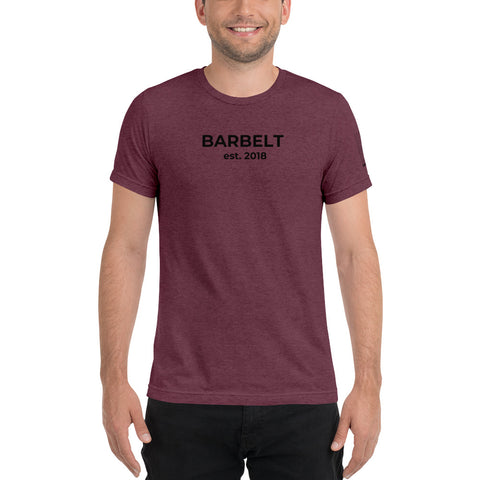 Barbelt Est. - Short sleeve Unisex t-shirt
