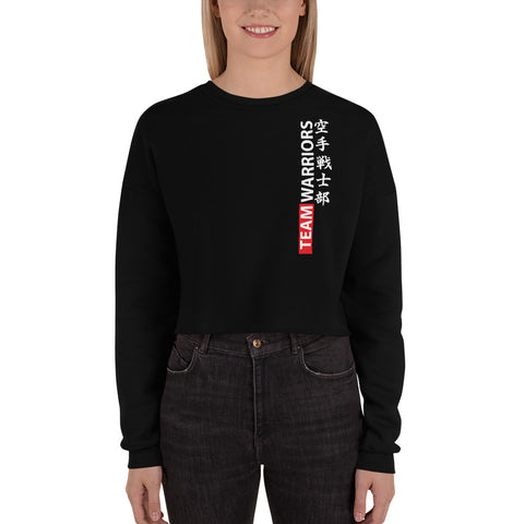 Team Warriors - Crop Sweatshirt