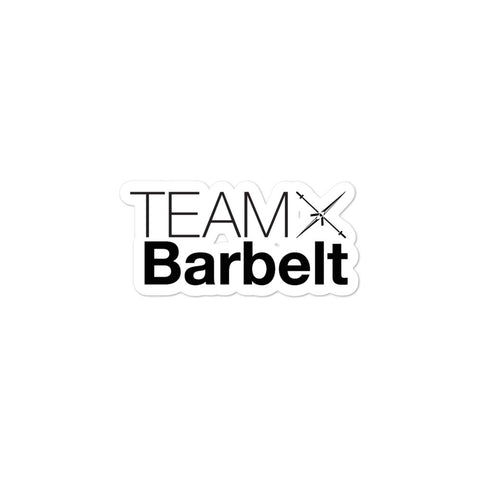 Team Barbelt Sticker