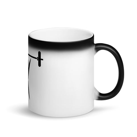 Lifting - Matte Black Magic Mug