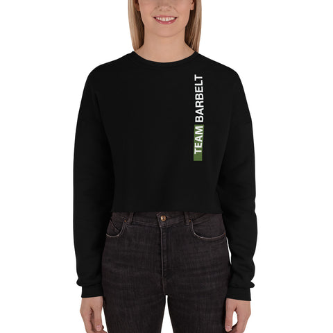 Team Barbelt - Crop Sweatshirt